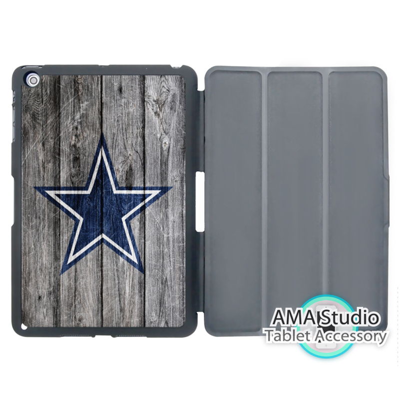 Dallas Cowboys Futbol Ligi Kapak Kılıf Apple iPad Mini 1 Için 2 3 4 Hava Pro 9.7 10.5 12.9 2016 2017 a1822 yeni