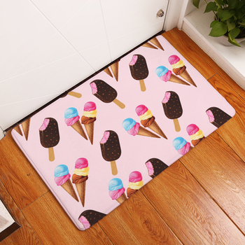 2017 New Home Decor Fruit And Food Carpets Non-slip Kitchen Rugs for Home Living Room Floor Mats 40X60 50X80cmm