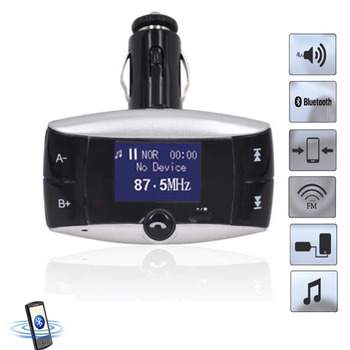 2017 Portable FM Transmitter Car Kit MP3 Player Wireless FM Modulator Stereo Adapter Bluetooth Handsfree Car Radio Music Player