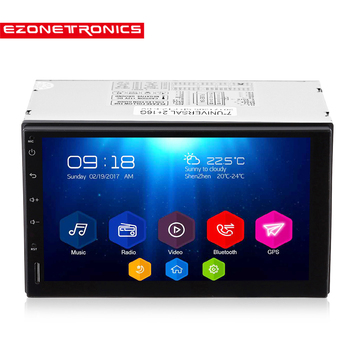 Destek DAB + 2 Din Araba Radyo Çalar 7 '' GPS Navigasyon Bluetooth Android 6.0 Araba MP5 Player 2G DDR3 + 16G NAND Bellek Flaş 0010