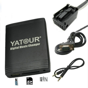 Yeni Peugeot Citroen için Yatour USB SD AUX adaptörü RD4 RT4 RT3 Can-bus Dijital MP3 media player CD Changer alternatif lir